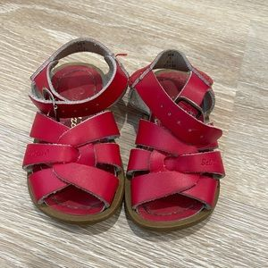 Salt Water Sandals by Hoy Red 5